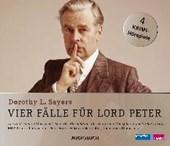Vier Fälle für Lord Peter (Das Spukhaus in Merriman's End, Der Pfirsichdieb, Die Weinprobe, Die geheimnisvolle Entführung)