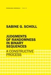 Judgments of randomness in binary sequences | Sabine G. Scholl |
