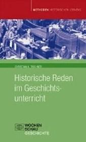 Historische Reden im Geschichtsunterricht