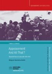 Appeasement And All That? | Tobias S. Schmuck |