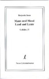Mann und Mond, Land und Leute