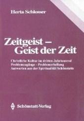 Zeitgeist - Geist der Zeit. Problemzugänge - Problemherstellung - Antworten aus der Spiritualität Schönstatts