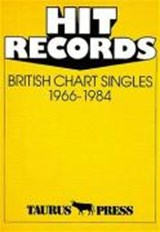 Hit Records. British Chart Singles 1966 - | auteur onbekend |