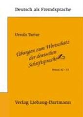 Übungen zum Wortschatz der deutschen Schriftsprache.