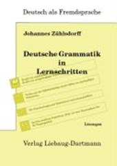 Deutsche Grammatik in Lernschritten. Lösungsbuch