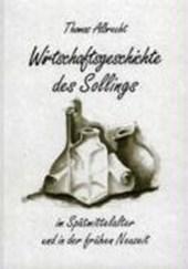 Wirtschaftsgeschichte des Sollings im Spätmittelalter und in der frühen Neuzeit