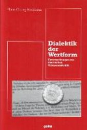 Dialektik der Wertform