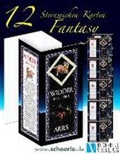12 Sternzeichen-Karten Fantasy-Edition mit Sternzeichentexten