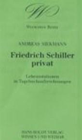 Friedrich Schiller privat
