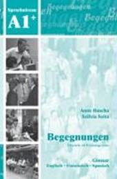 Begegnungen Deutsch als Fremdsprache A1+: Glossar