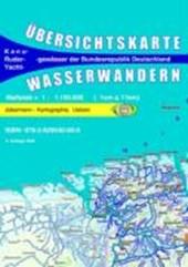 Wasserwandern Deutschland Übersichtskarte 1 :