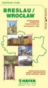 Höfer Polen SP015. Breslau / Wroclaw 1 : 16 500. Stadtplan