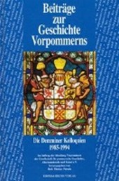 Beiträge zur Geschichte Vorpommerns