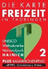 Die Karte - Freizeit in Thüringen 02. Nationalpark Hainich 1 :