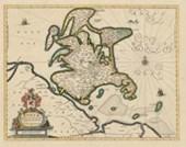 Historische Landkarte: Insel Rügen -