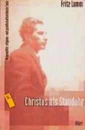 Christus als Standuhr