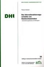 Das Internationalisierungsverhalten von Handwerksbetrieben