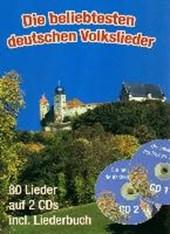 Die beliebtesten deutschen Volkslieder (A4 mit CDs)