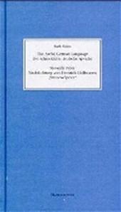 Die schreckliche deutsche Sprache. Nachdichtung von Heinrich Hoffmanns ' Struwwelpeter'