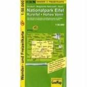 Nationalpark Eifel, Rureifel, Hohes Venn Wander- und Freizeitkarte 1 :