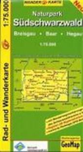Südlicher Schwarzwald 1 : 75 000. Rad- und Freizeitkarte
