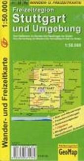 Freizeitregion Stuttgart und Umgebung 1 : 50 000. Wander- und Freizeitkarte