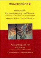 Wörterbuch Rechnungslegung und Steuern. Accounting and Tax Dictionary | Uwe Woywode |