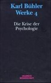 Die Krise der Psychologie (1927)