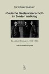 Deutsche Geisteswissenschaft im Zweiten Weltkrieg