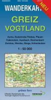 Greiz - Vogtland 1 : 50 000 Wanderkarte