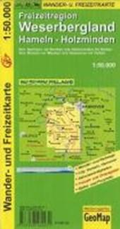 Weserbergland Wander- und Freizeitkarte 1:50.000