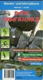 Der Oberharz Wander- und Fahrradkarte 1 :