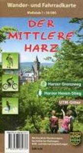 Der Mittlere Harz Wander- und Fahrradkarte 1 :