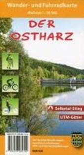 Ostharz 1 : 30 000 Wander- und Fahrradkarte