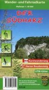 Südharz Wander- und Fahrradkarte 1 :