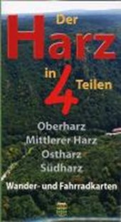 Der Harz in 4 Teilen. Kartenset 1 :