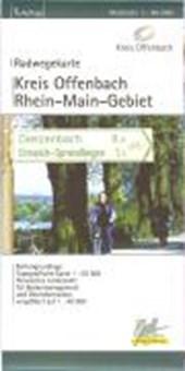 Kreis Offenbach Radwegekarte 1 :