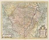 Historische Karte St. Hersfeld in Hessen
