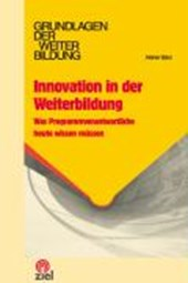 Innovation in der Weiterbildung