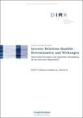 Investor Relations-Qualität: Determinanten und Wirkungen