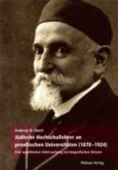 Jüdische Hochschullehrer an preußischen Universitäten (1870 - 1924)