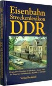 Eisenbahnstreckenlexikon der DDR