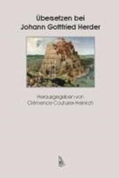 Übersetzen bei Johann Gottfried Herder