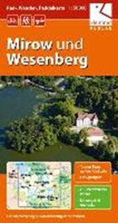 Mirow und Wesenberg 1 : 50 000 Rad-, Wander- und Paddelkarte