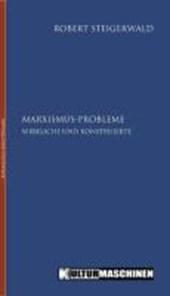 Marxismus-Probleme