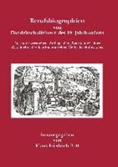 Berufsbiographien von Handelsschullehrern des 19. Jahrhunderts