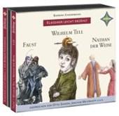 Weltliteratur für Kinder: 3-er Box Deutsche Klassik: Faust, Wilhelm Tell, Nathan der Weise