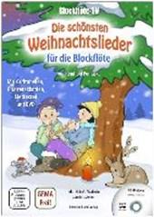 Blockflöte-TV: Die schönsten Weihnachtslieder für die Blockflöte - incl. DVD mit Lehrvideos und Playbacks zum Mitspielen