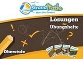 StrandMathe Lösungsheft zu Oberstufe Teil 1-4: Lösungswege - Rechenschritte - Erklärungen