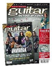 guitar school of rock: Hardrock. Songbook mit DVD